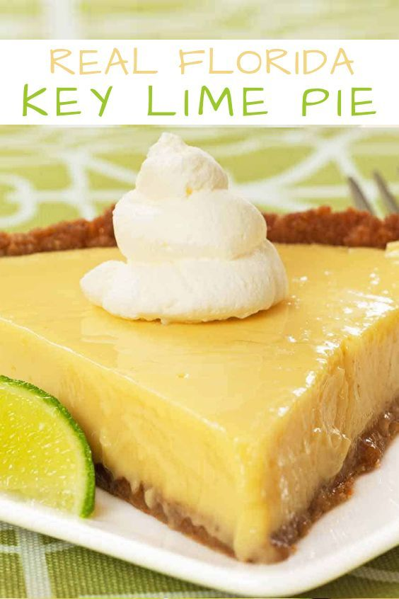 Real Florida Key Lime Pie Recipe Florida Key Lime Pie Recipe Key Lime Recipes Lime Recipes
