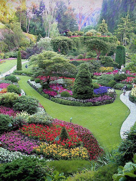 Butchart Gardens Butchart Gardens Garden Design Backyard Landscaping Designs