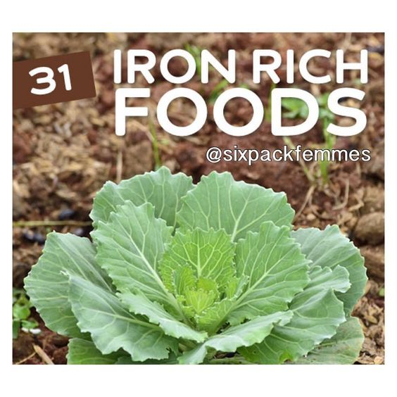 10 Iron rich foods