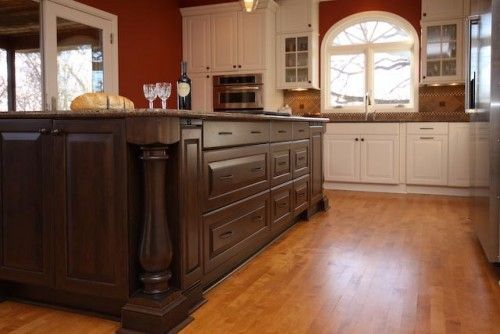 The mother of all kitchen islands