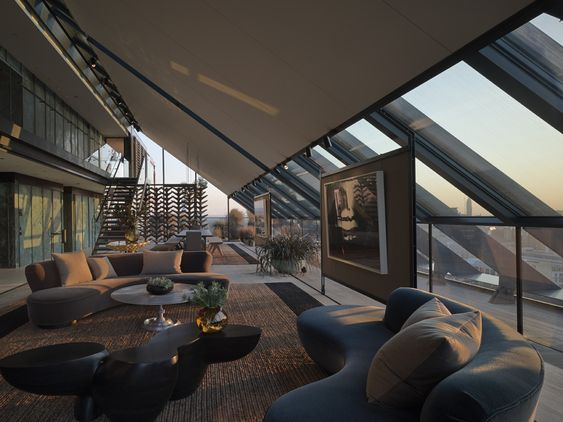 Neo bankside penthouse london interior design by for Neo inspiration interior design