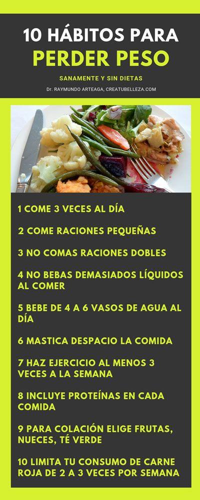 Dieta Saludable Para Bajar De Peso 10 Habitos Para Bajar De Peso Sin Comida De Dieta Bajar De Peso Alimentos Saludables Bajar De Peso Comida Sana Bajar De Peso