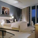 CONDOMINIUM DECORATING: [Pictured] Modern Minimalist #Condominium #Master_Bedroom #Interior_Decorating #Design