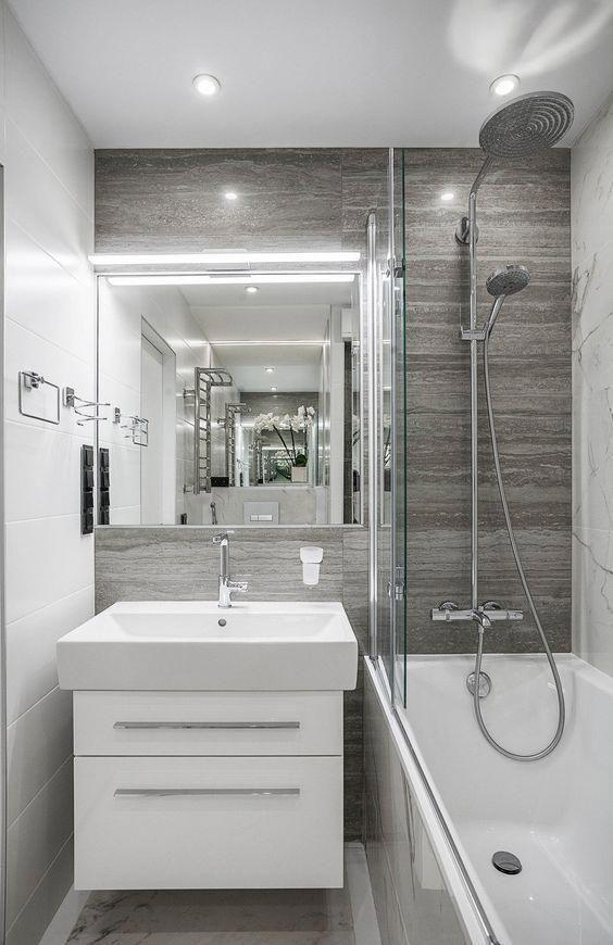 Azulejos Para Diseno De Banos Azulejos Para Banos Pequenos Combinacion De Ceram Bathroom Remodel Small Budget Bathroom Interior Design Small Bathroom Remodel