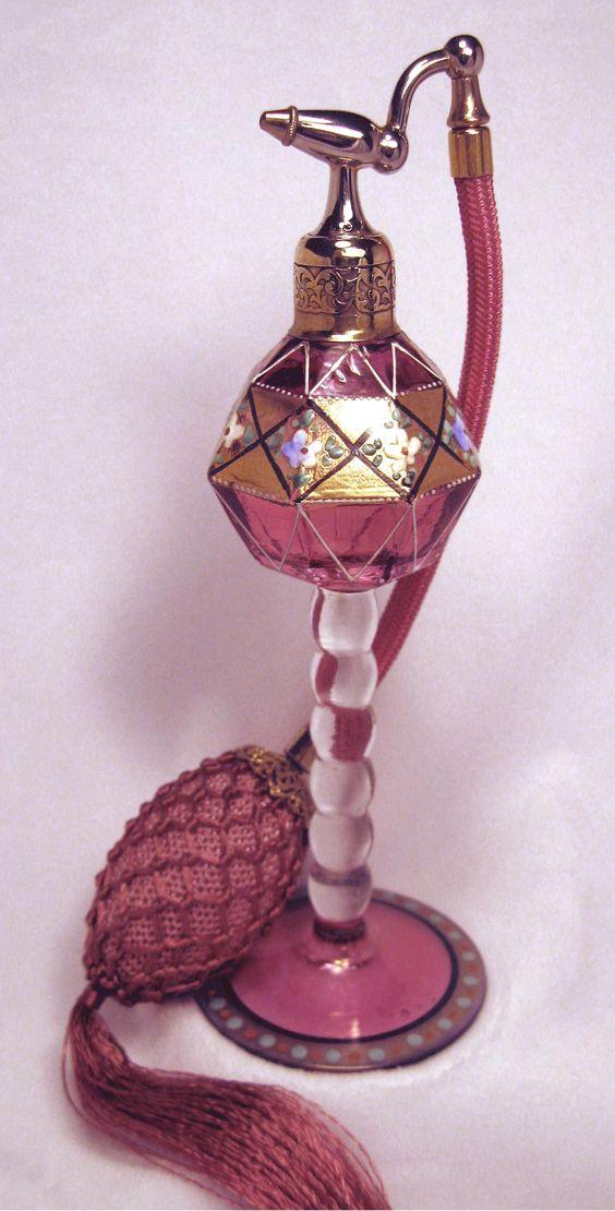 Czech Perfume Bottle