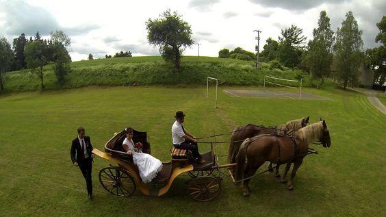 Photo of the carriage ride with DJI Phantom