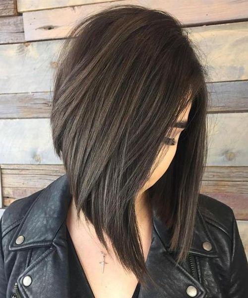Splendid Angled Bob Hairstyles 2019 For Women To Rock This Year Angled Bob Hairstyles Thick Hair Styles Bob Hairstyles