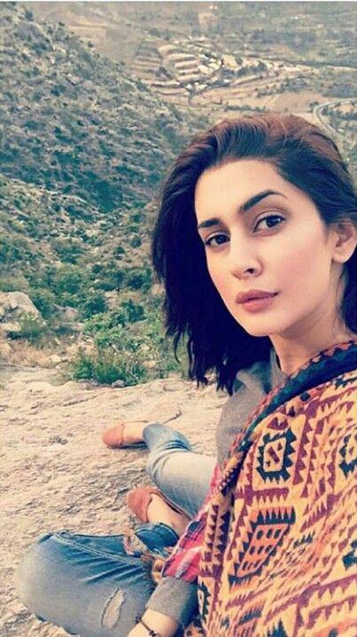 Kubra Khan Selfie