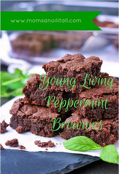YOUNG LIVING PEPPERMINT BROWNIES Looking for something tasty to take with you to your next holiday get together? How about trying a new spin on an old classic with Young Living's Peppermint Brownies? Some of you may have never even considered the fact that there are some Young Living essential… Continue reading