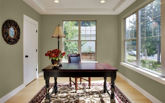 Glidden paint wall color forest khaki paint colors for for Khaki green walls