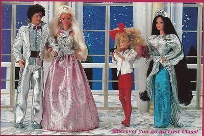 jewel secrets barbie 1987 | Nostalgic+Barbie+doll+Postcard+Jewel+Secrets+1987