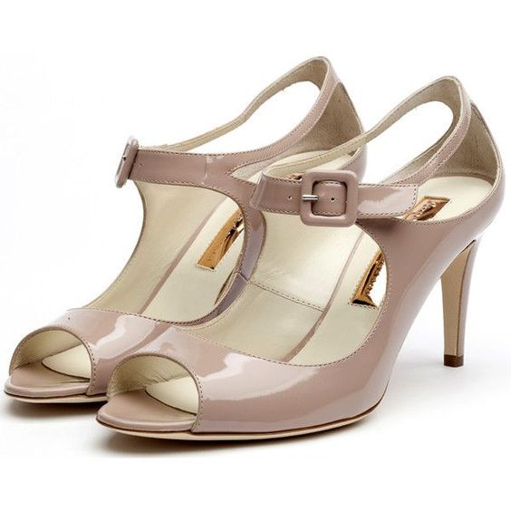 Rupert Sanderson shoes - worn by  Princess Eugenie of York: