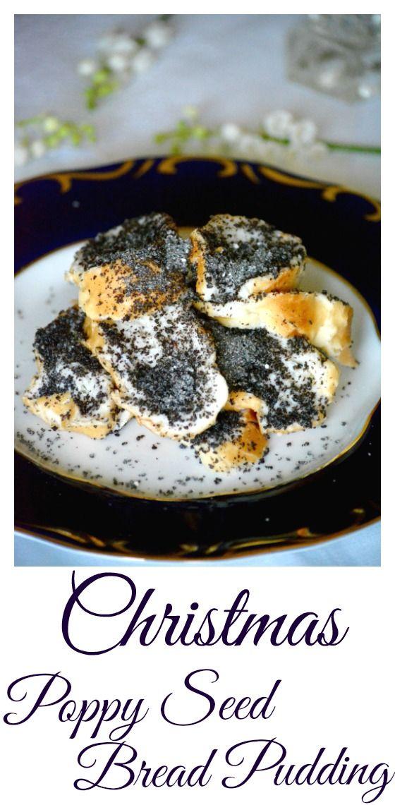 A Christmas classic in Hungary. Poppy seed is a symbol of wealth and fertility. It is an easy and quick dessert to make and the recipe below is very simple to follow. Hungarian poppy seed bread pudding (Mákos Guba) recipe.