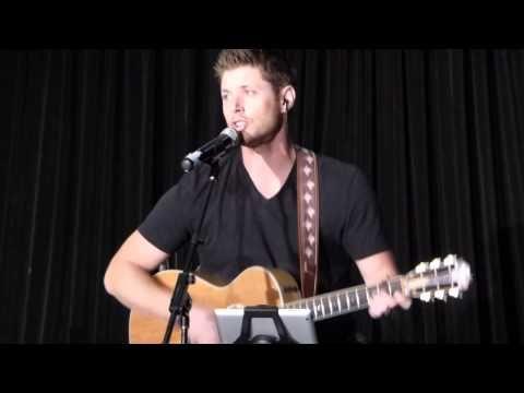 Jensen Ackles Singing Sweet Home Alabama for Jared & JIBCon - YouTube