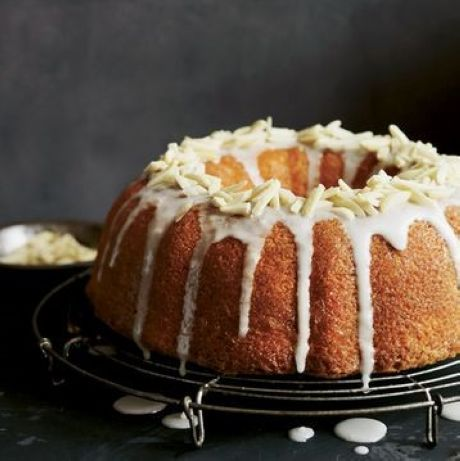 Lemon circle cake.  I love lemon.