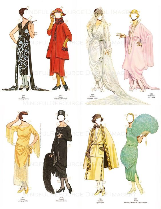 Thesis statement on 1920s fashion