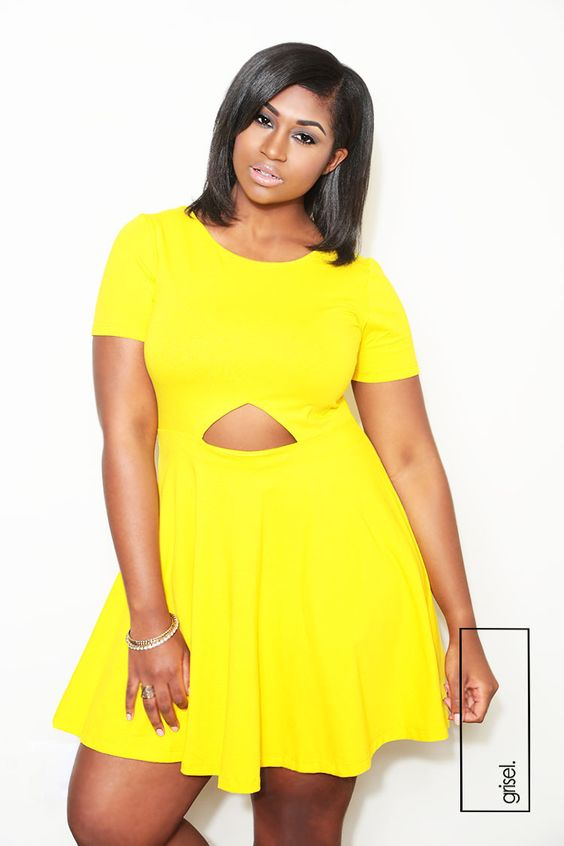 Beautiful Plus Size Cut Out Dresses Images - Mikejaninesmith.us ...