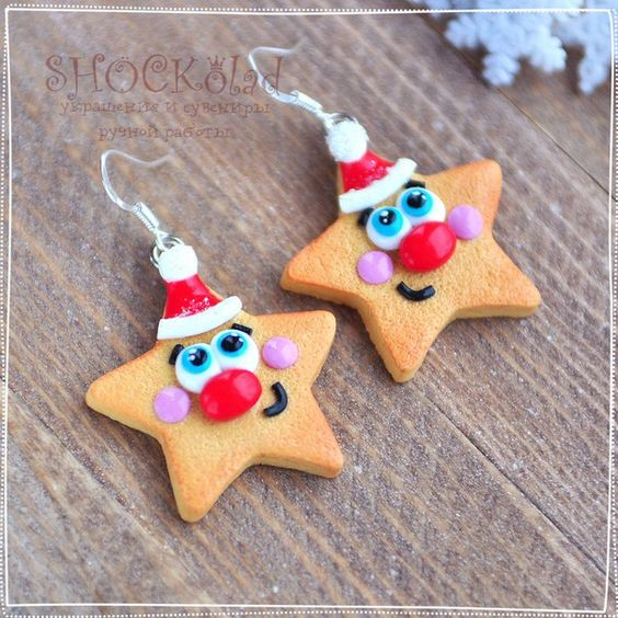 funny new year stars clay sweets