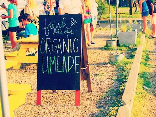 Always fresh and organic!