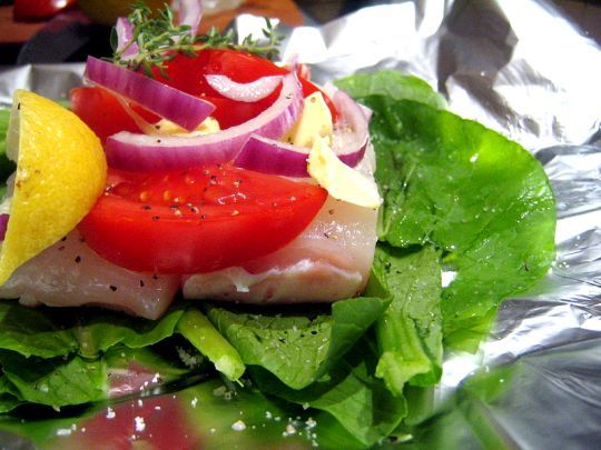 how to blanch spinach for fish