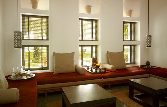 Chedi Club Suite Livingroom. Chedi Muscat. © GHM Hotels