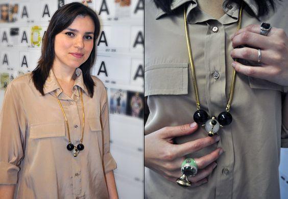 Maria Clara Povia, editora-assistente de beleza: The Beleza, Looks De Elle, Maria Clara