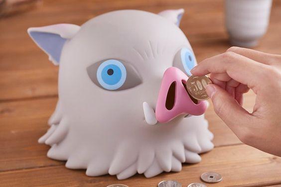 該換掉你的小豬撲滿了!ANIPLEX+ 限定《鬼滅之刃》嘴平伊之助 豬頭存錢筒(鬼滅の刃 伊之助ヘッドマスコット貯金箱) | 玩具人Toy People News