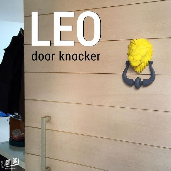Something we liked from Instagram! The king of the jungle now has a place on the door of your home!  Check us out at www.3dshook.com #3dprint #3dmodels #3dprinted #3dprinter #3dprinters #3dprinting #3dshook #tech #technology #makers #makersgonnamake #doors #interiors #homedecor #decor #lion #lionking #doorknocker by 3dshook check us out: http://bit.ly/1KyLetq