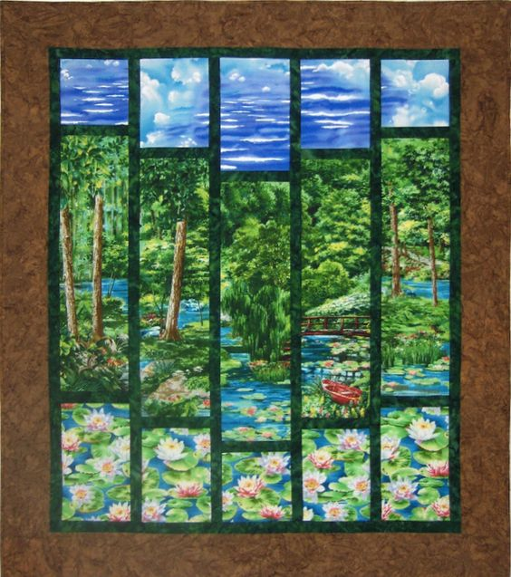Quilt Patterns Using Large Scale Prints : Pinterest ? The world s catalog of ideas