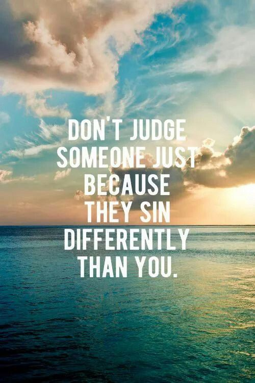 Christian Quotes: Don't Judge