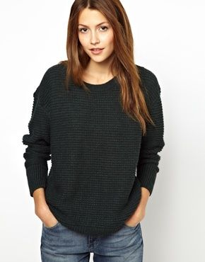 Vanessa Bruno Athé Alpaca Mix Chunky Knitted Long Sweater