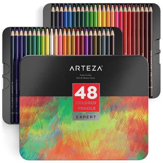 Professional Watercolour Pencils Set Of 72 Colored Pencils
