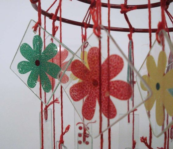 chinese glass wind chimes - Google Search