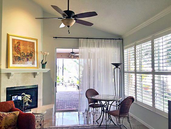 Family Room – Traversing Sheer Drapery   http://sarasotawindowtreatments.com/project/portfolio-8/: