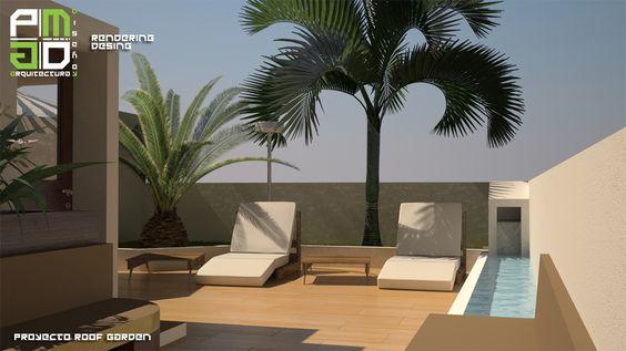 ROOF GARDEN - DIVISION DEL NORTE #Arquitectura #Diseño #Construcción #Renders #PMarquitecturaydiseño #PMADMX