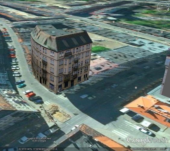 Solidarność Walcząca, nowa siedziba, autor: Michał Wicher, Wrocław 3D | Fighting Solidarity on Google Earth