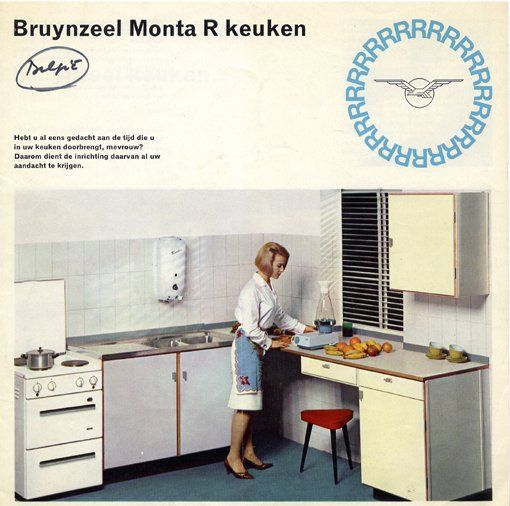 Bruynzeel Monta R keuken brochure, Bruynzeel, c.1961