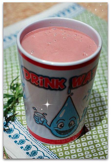 {recipe redux} Tarragon Berry Smoothie