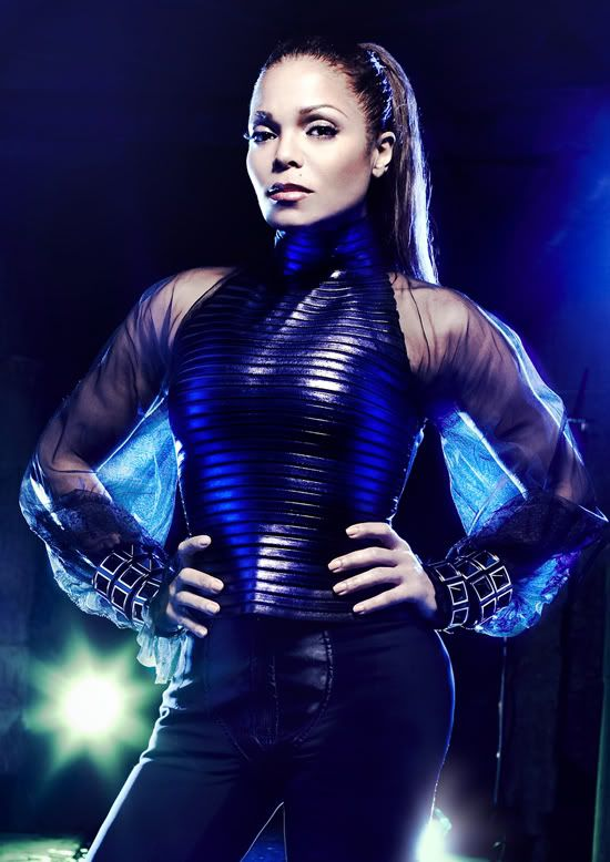Black Spandex Catsuit worn By Janet Jackson. Buy your Catsuit for dance from DCUK Dance Clothes.
