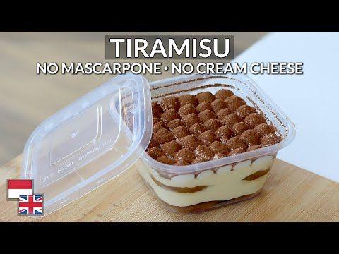 Ekonomis Resep Tiramisu Kualitas Hotel Bahan Lokal Tanpa Mascarpone Cream Cheese Youtube Dessert Boxes Mascarpone Mascarpone Cream Cheese