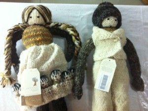Muñecas Panchita y Panchito - Muñecas chilotas de La Ballena Dormida