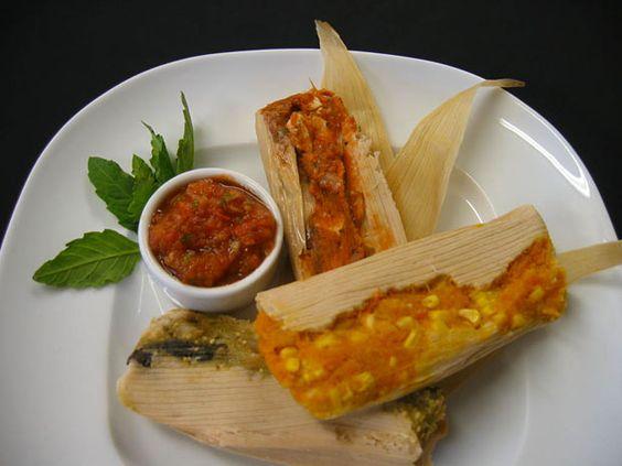 Les dejamos varios platillos de la gastronomía mexicana. Tamales ...