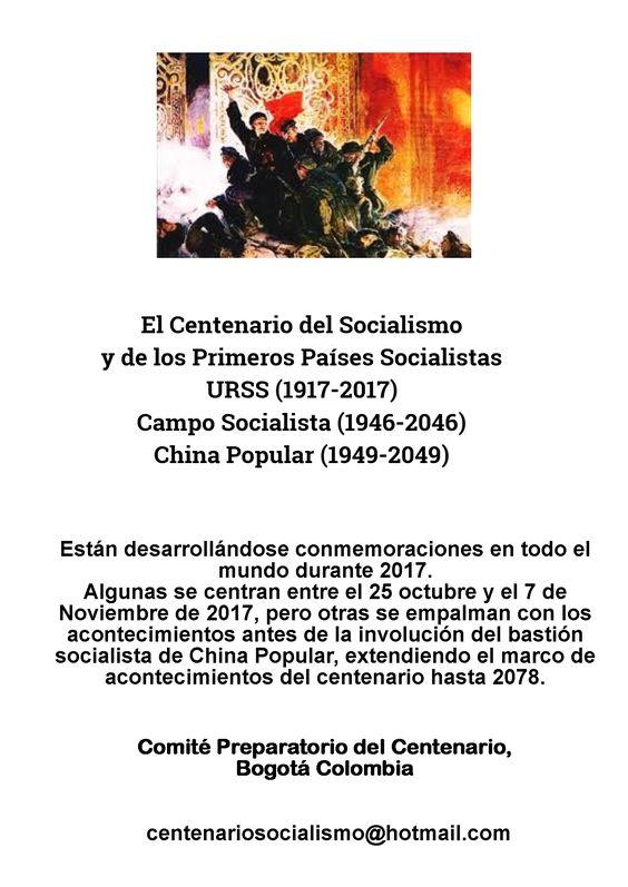 Centenario Socialismo