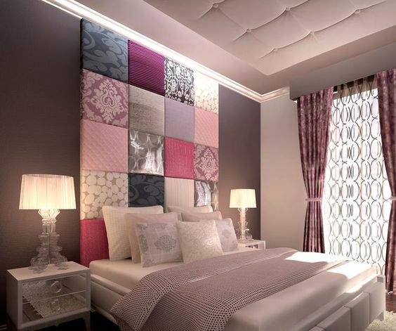 20 originales cabeceros de cama para tu dormitorio - Decorar cabecero cama ...