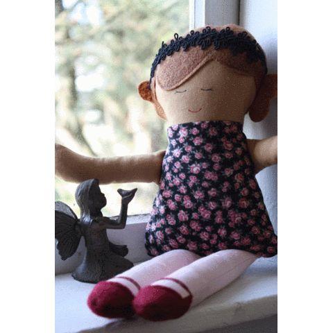 emma hand made doll - my urbanware