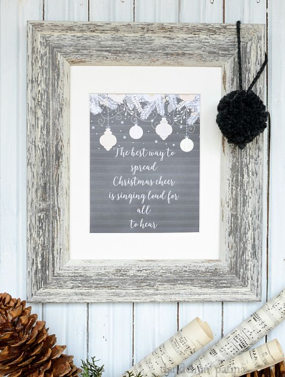 Christmas Cheer Free PrintableDecember 14 By Michelle 6 Comments