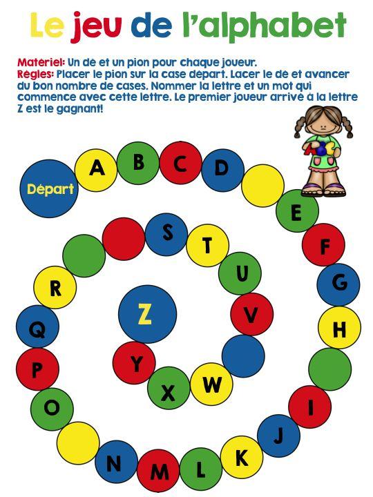 Jaux France  city photos gallery : FRENCH Back to school Bundle Le jeu de l'alphabet Disponible dans l ...
