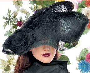 Black Hat by Jasmin Zorlu via www.thewomenseye.com #hats #design