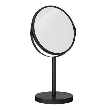 Stoer en robuust: deze make-up spiegel van Bloomingville is ideaal voor tijdens het opmaken óf scheren! Hij heeft namelijk een tweezijdig design met een normale en een vergrotende spiegel. Bovendien staat hij lekker stabiel op zijn ronde voet!