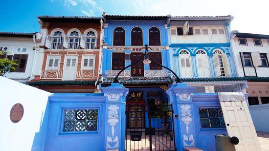 Ngôi nhà Peranakan Shophouse được bảo tồn cẩn thận